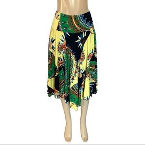 Chapter One 🇨🇦 Bold Stretchy Flowy Circular Skirt